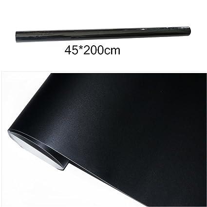 sungpunet extraíble negro tiza pizarra adhesivo decorativo para pared papel adhesivo para la escuela decoración del hogar 200 x 45 cm Plus 5 tizas