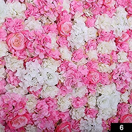 Marvelous Pinkdose 6 Diy Artificial Cloth Rose Flower Wall Decoration Party Wedding Decoration Backdrop Creative Hotel Background Wall Decor Download Free Architecture Designs Crovemadebymaigaardcom
