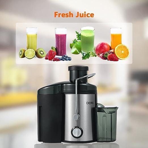 DEMU Extracteur de Jus Centrifugeuse Fruits et Légumes