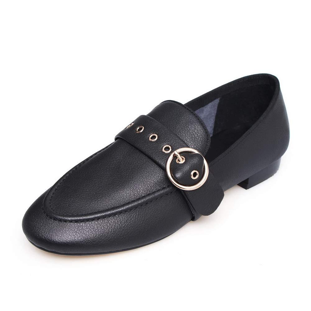 AN DGU00867, Sandales Compensées Femme - Noir - Noir, 36.5 EU