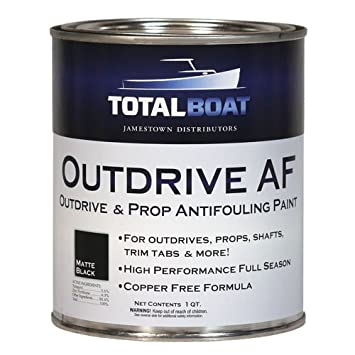 Amazon.com: TotalBoat Outdrive AF - Pintura antiincrustante ...