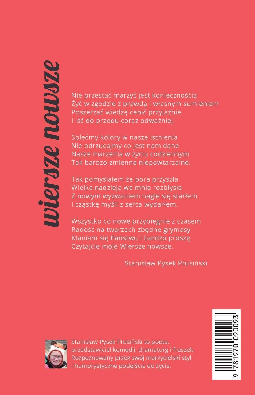 Wiersze Nowsze Polish Edition Stanislaw Pysek Prusinski