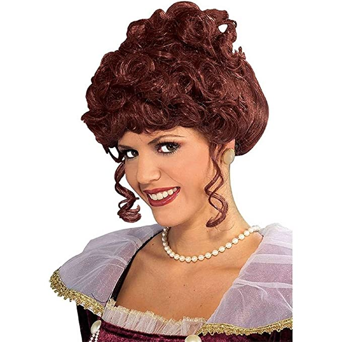 Victorian Wigs, Hand Fan, Purse, Gloves Accessories Adult Victorian Lady Wig Adult $7.59 AT vintagedancer.com