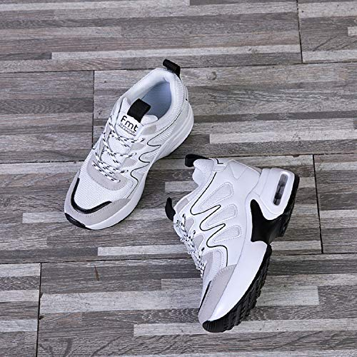 Da Tacco Fitness Donna Cm Con 7 Sportive Scarpe Sneakers Bianco Interna  Zeppa Aonegold Ginnastica wHxavqRI7f e728e35ccde