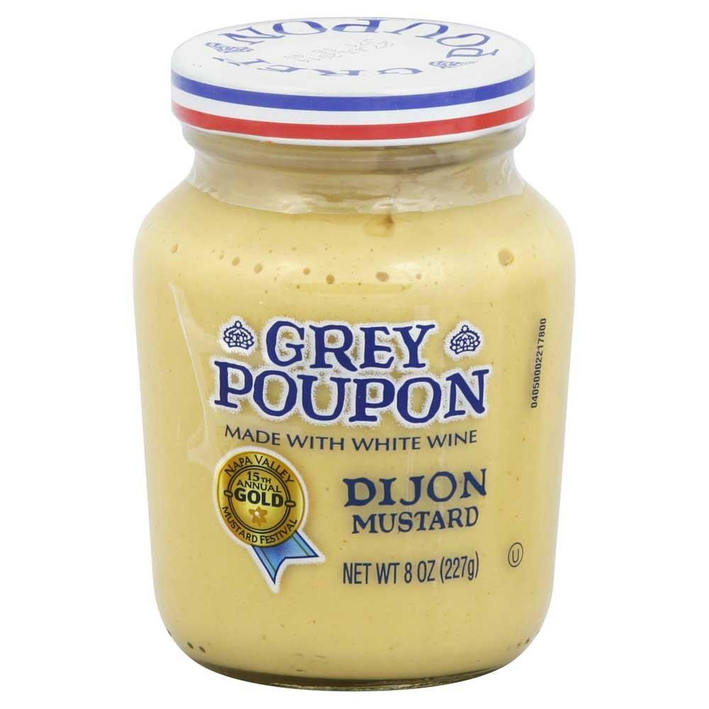 Grey Poupon Dijon Mustard 8 oz (Pack of 12)