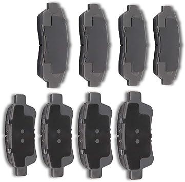 Rear Ceramic Brake Pads For 2005 2006 2007 2008 2009 2010 HONDA ODYSSEY