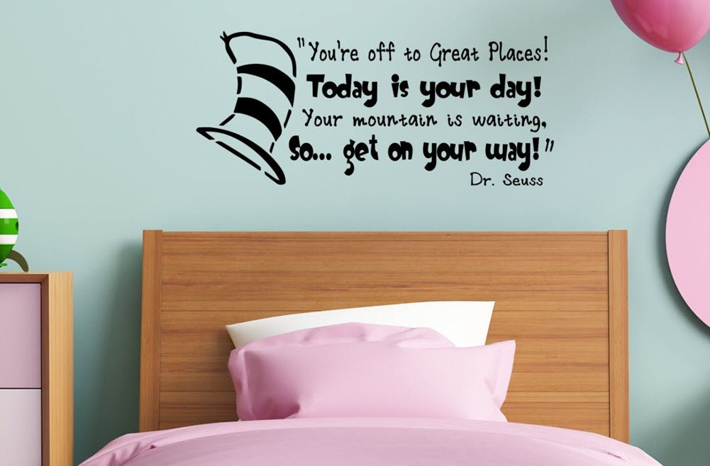 New Dr Seuss Wall Decals Are A Vinyl