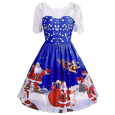 67e43035504 walaka Deguisement NoëL Femme Vintage