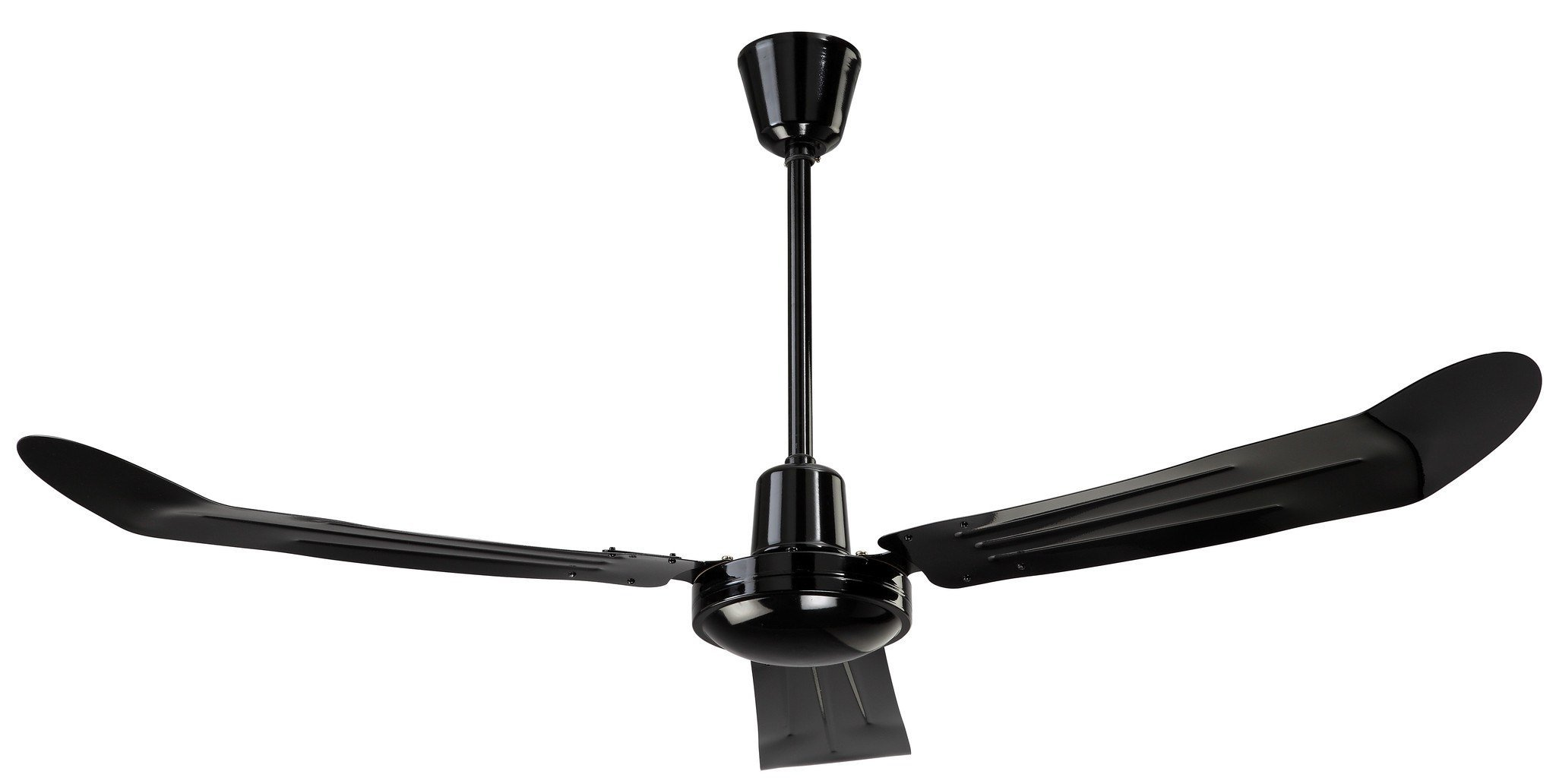 Canarm Black Variable Speed & Reversible 36 Inch Commercial Ceiling Fan 7100 CFM CP36BK by Canarm by Industrial Fans Direct