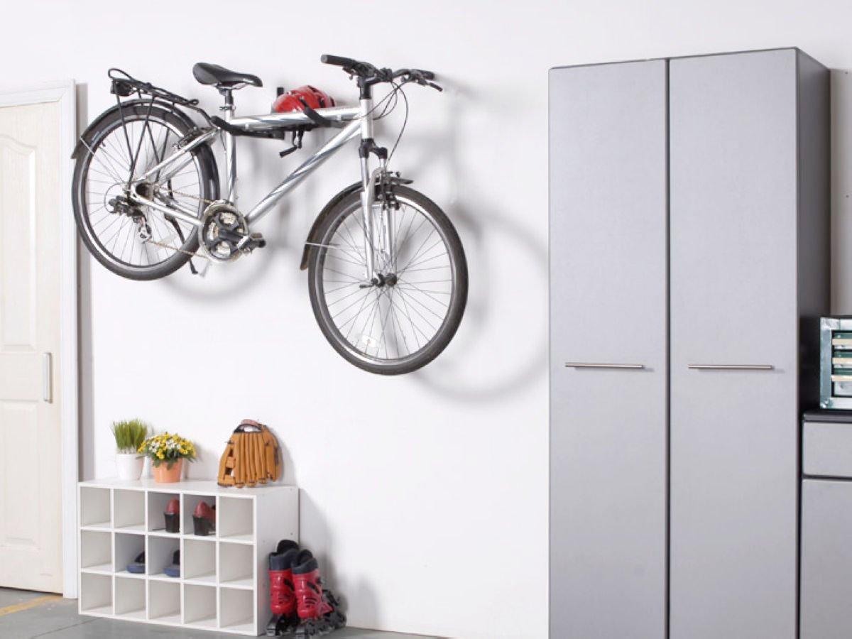 Ultrawall Bike Rack, Wall Mount Garage Bicycle Holder Bike Storage Hook Hanger Repair Stand