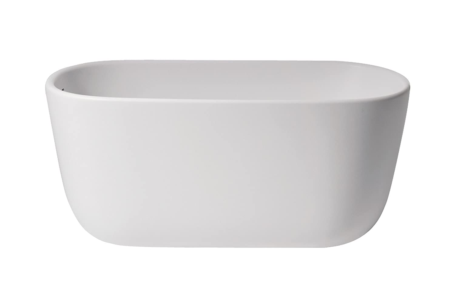 Aquatica Lullaby-Wht PureScape 602M Freestanding Solid Surface Bathtub
