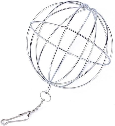Su-luoyu bola de heno cadena pelota dispensador comida acero ...