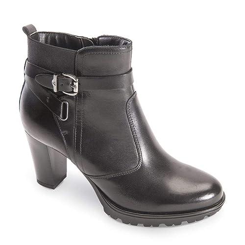 disponibilità nel Regno Unito design innovativo qualità stabile VALLEVERDE Donna Tronchetto Nero o Cuoio 49202 Scarpe in ...