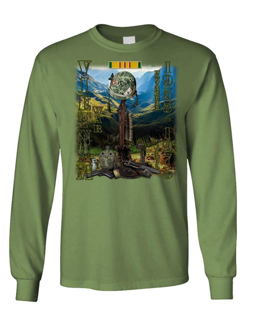 Vietnam War Tribute Indochina Memorial D Tee 5253 Shirts