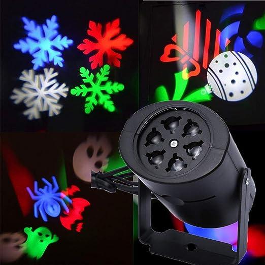 Navidad luces del proyector, Luces al aire libre impermeable de ...