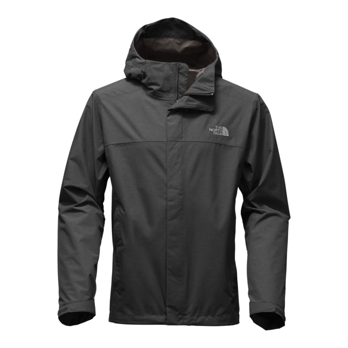 The North Face Men's Venture 2 Jacket - Tall Dark Grey Heather/Dark Grey Heather (Large)