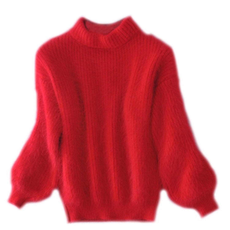 c5ce2e984c 70%OFF Mujeres Jerséis Redondo Cuello Sueter Flojo Jersey De Punto Abrigo Otoño  Invierno Pullover