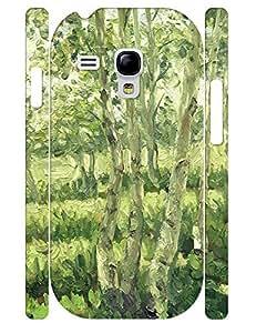 Natural Glam Tree Pattern Rugged Phone Aegis for Samsung Galaxy S3 Mini I8200