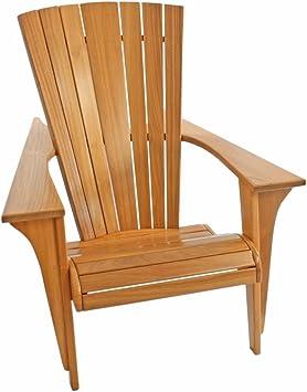Jardín ST1274 muebles y decoración silla Victoria de madera de teca uriger mivall sillón porche terrazas jardín Sillón hecho a mano maciza estable campestre: Amazon.es: Juguetes y juegos