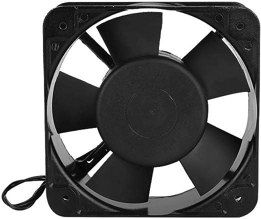 Sheens AC 220-240V Ventilador de incubadora, Ventilador de refrigeración Ventilación de Aire Accesorios para máquinas de criadero pequeño 5.91x5.91x2.05 Pulgadas ...