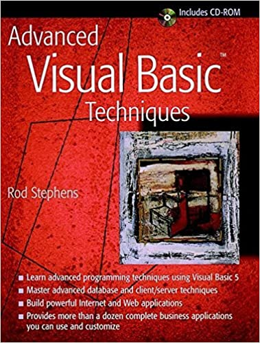 Book Advanced Visual Basic Techniques by Rod Stephens (1997-07-08)
