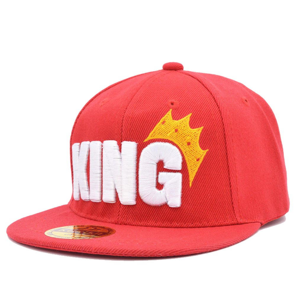 D-Sun Child Boys Girls Kids Hip-hop Trucker Hat Crown King Logo Baseball Cap