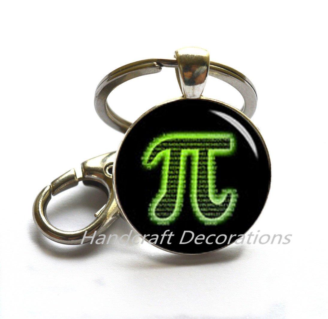 Pikechain, piercing joyas, pi, llavero de la ciencia ...