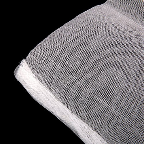 Tinksky drawstring nylon mesh filter media bags for for Fish pond filter mesh