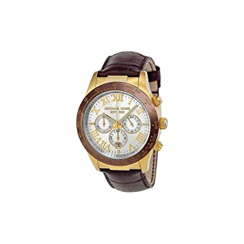 553e7ad6b5bb Micheal Kors Layton Chronograph Silver Dial Mens Watch Michael Kors 8263   Amazon.co.uk  Watches
