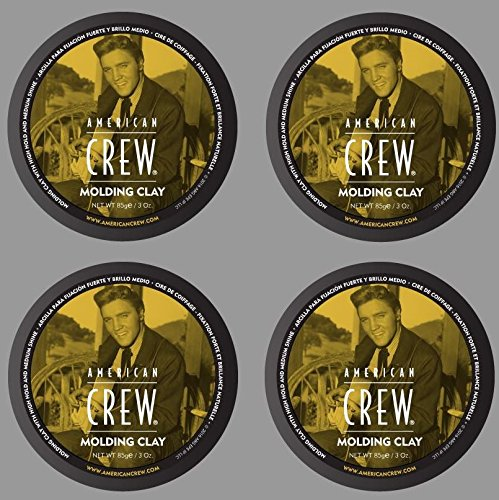 American Crew Molding Clay 3oz (4-PACK!!)