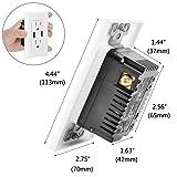 [2 Pack] BESTTEN 2.4A Dual USB Wall