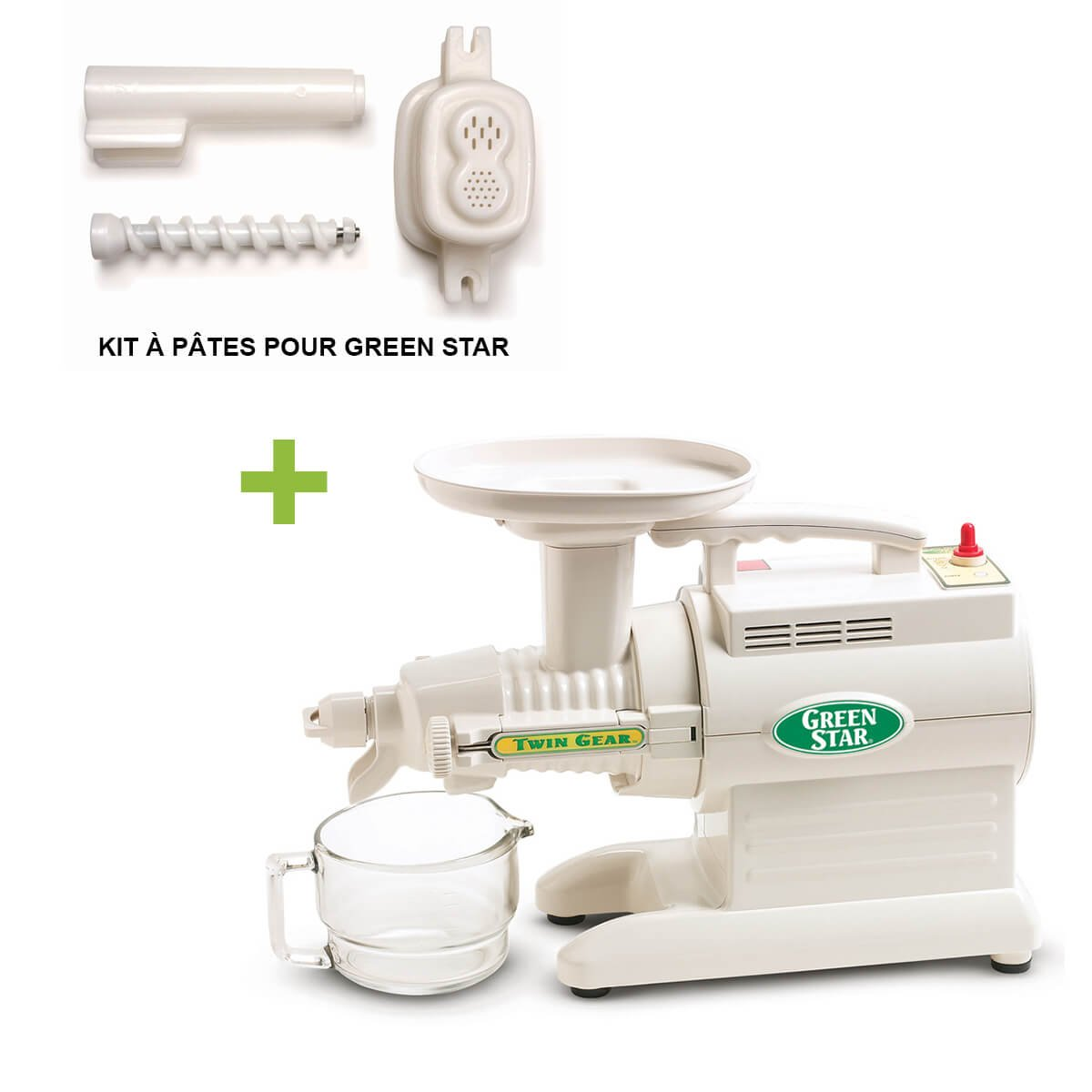 Pack Promo Tribest Greenstar GS1000 + Kit de pasta - Extractor de ...