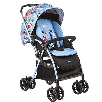 QILEGN Carrito de bebé Cochecito del Cochecito de bebé, Cochecito Ultraligero Plegable reclinable, B
