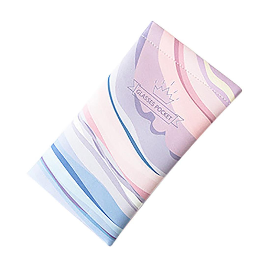 Pochette de Lunettes, Rameng Animal Imprimé Sac Rangement pour Lunettes de Soleil (A)