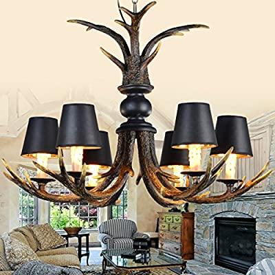 European rustic living room dining room den bedroom villa classic antique antler chandelier antler chandelier bar