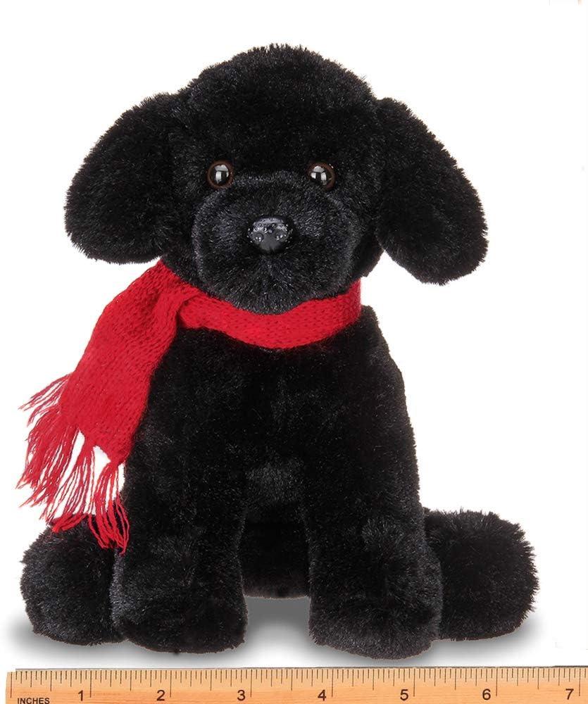 This Is Fine Dog Stuffed Animal, Amazon Com Bearington Cole Plush Plush Black Lab Puppy Dog Stuffed Animal 7 5 Inches Toys Games