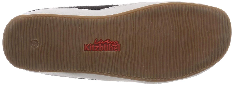 Living Kitzbühel Kitzbühel Kitzbühel 2238, Pantofole alte senza imbottitura Unisex bambini Nero (Schwarz) 52f034