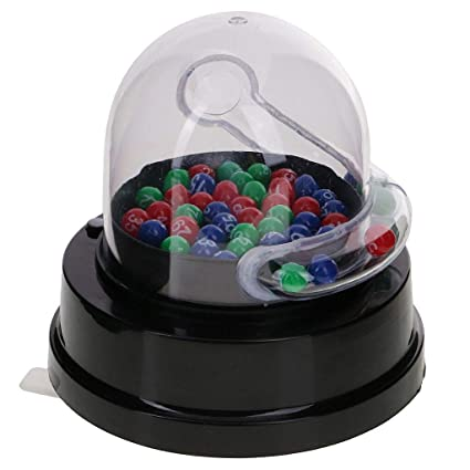 ELECTROPRIME Qualtiy Mini Electric Lucky Number Picking Machine for Lottery Bingo Games