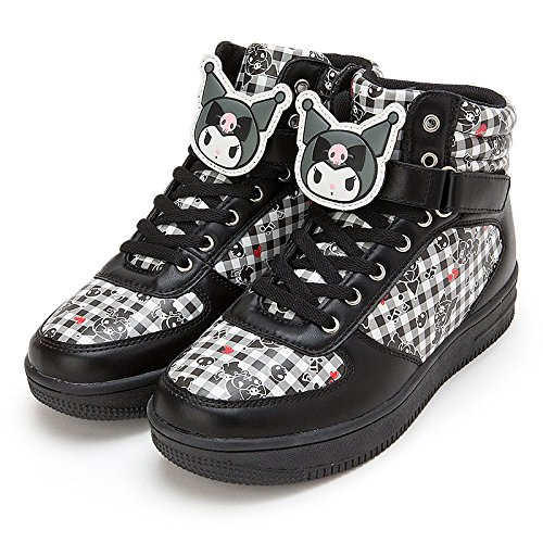 Sanrio Kuromi character clip with high-cut sneakers L size From Japan New (Names Of Monster High Characters)