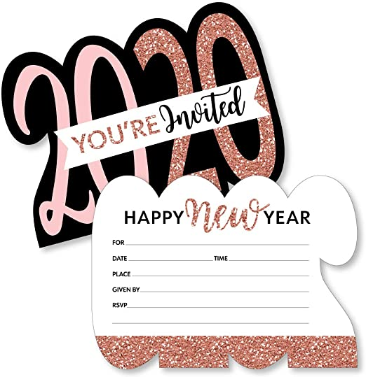 Home & Garden Greeting Cards & Invitations NEW YEARS EVE ...