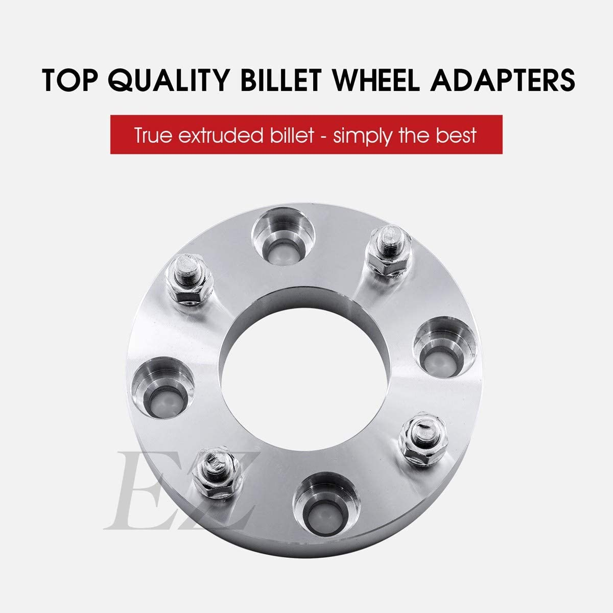EZAccessory 2 ATV Wheel Adapters To Mount 4x110 Polaris Rims on 4x156 Yamaha Hub Thickness 2 Inch