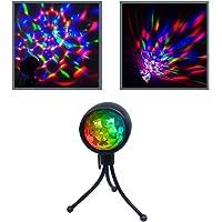 GutReise Party Stage lights,RBG Disco Ball Portable USB Dance Birthday DJ Bar Karaoke Xmas Wedding Lighting Portable…