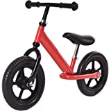 "Costzon 12"" Classic No-Pedal Balance Bike Kids Walking Bicycle, Adjustable Seat"