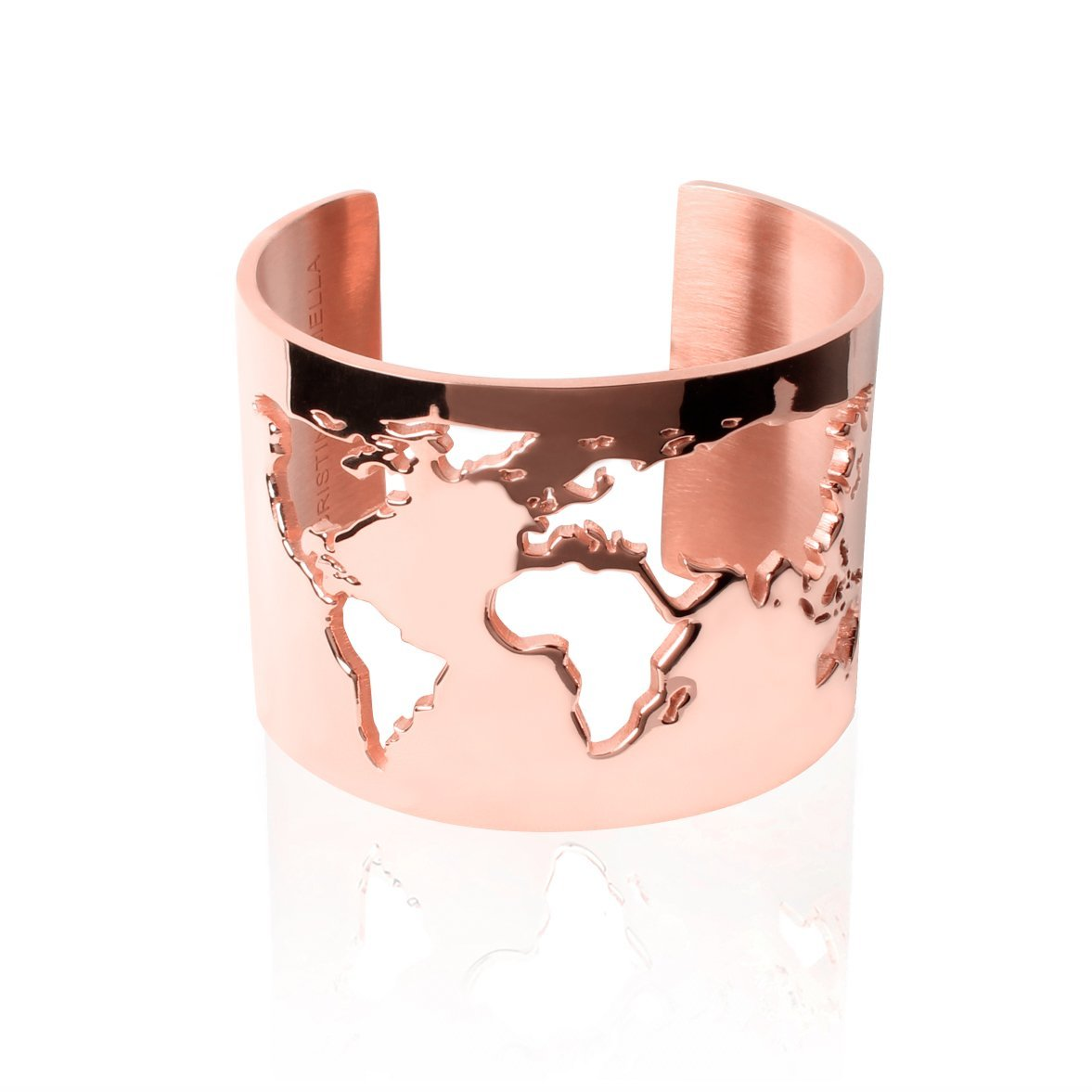 WORLD CUFF 24K Rose Gold Plated Travel Jewelry