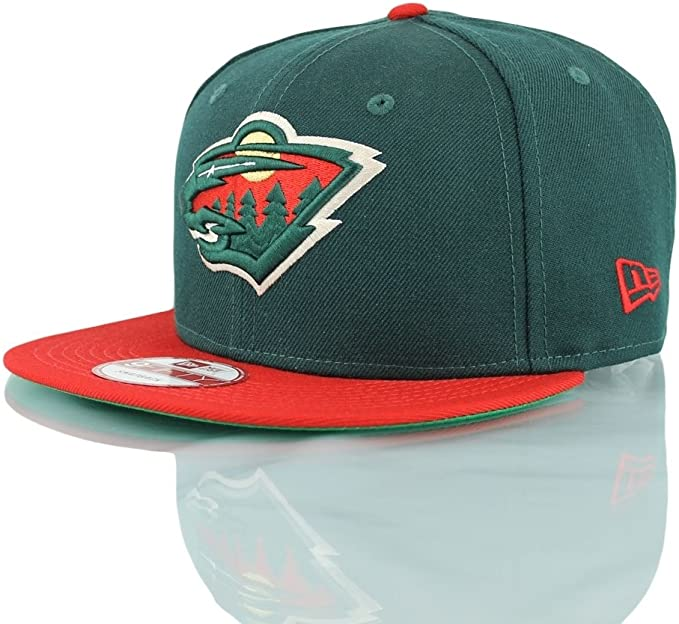 Minnesota Wild New Era – Gorra – NFL Basic – Green/Red verde ...