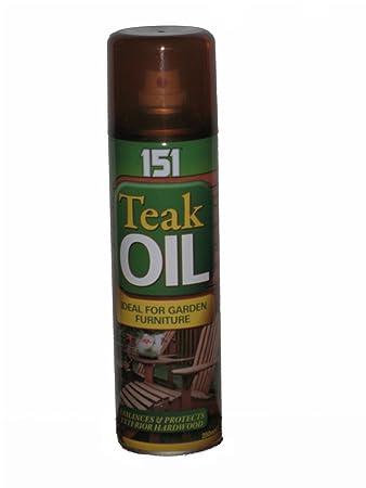 Teak Oil Spray - Ideal Für Gartenmöbel - 250ml: Amazon.de: Garten Gartenmobel Teakholz Teakol