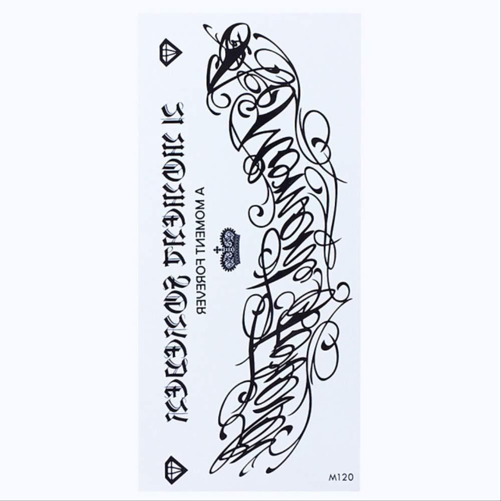 ZPF Tatuaje Etiqueta engomada temporal impermeable del tatuaje ...