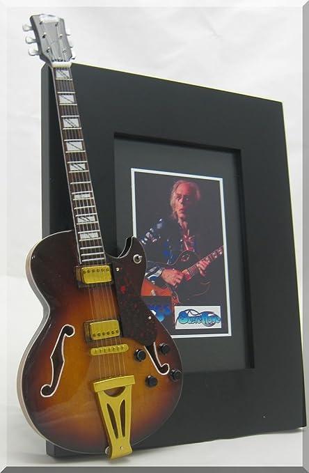 STEVE HOWE - Marco de fotos para guitarra en miniatura SI 2 ...