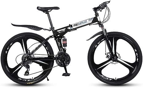 Bicicleta de montaña plegable Palanca de cambio de 21/24/27 ...