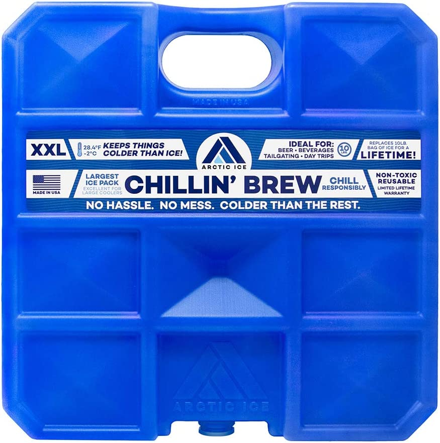2-Pack Tailgating Arctic Ice Chillin Brew Series Long Lasting High ...